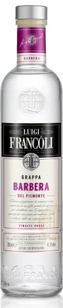 Luigi Francoli Grappa Barbera del Piemonte (0,7 Liter)