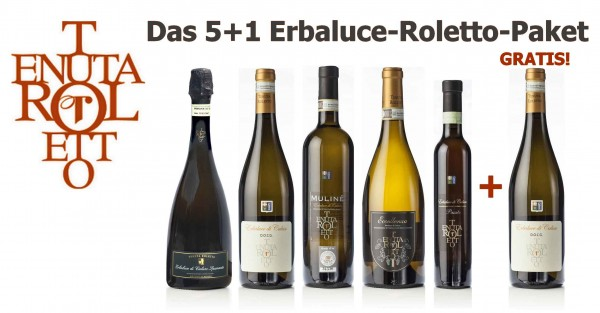 Das 5+1 Erbaluce-Roletto-Paket