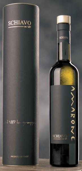 Distilleria Schiavo Grappa di Amarone (0,5 Liter) mit Etui