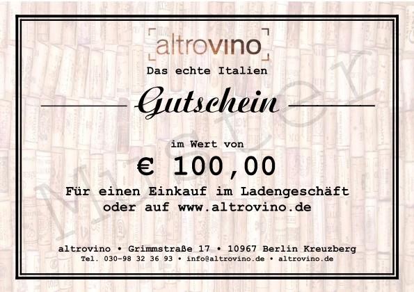 Geschenkgutschein € 100,00