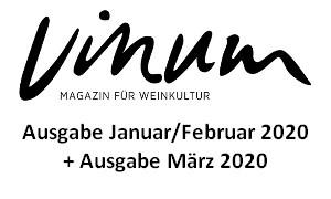 VINUM Magazin für Weinkultur Januar/Februar & März 2020