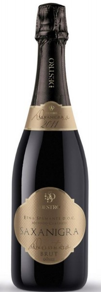 Destro Vini »Saxanigra« 60 Mesi Etna Spumante Metodo Classico Brut